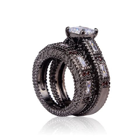 Aliexpress.com : Buy cheap black ring 2016 women wedding