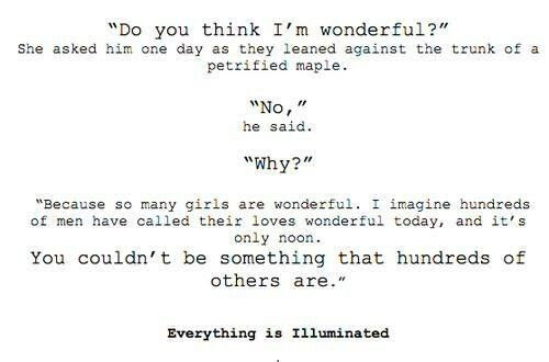 Cute Love Quotes I Love You Quote Everything Is Illuminated