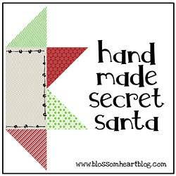 Handmade Secret Santa (July 2012)