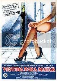Cartel: Vestida para matar 1980
