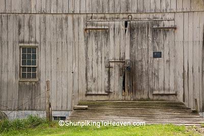 Barn Doors, Guernsey County, Ohio