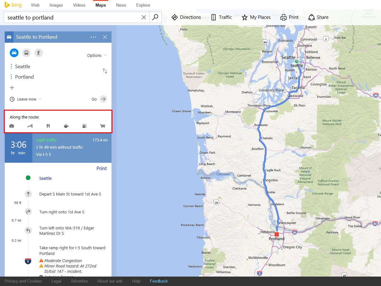 Bing Maps Preview gets some highly-requested feature tweaks on the web