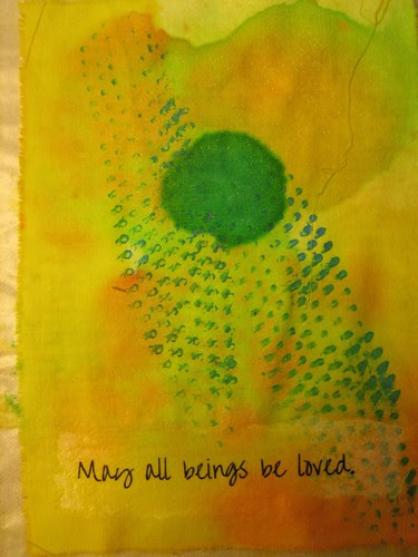 May all beings be loved