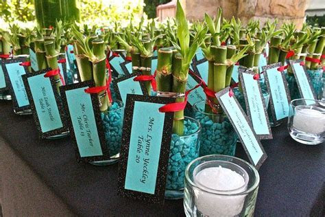 go bamboo instead of a potted plant favor??   for our vow