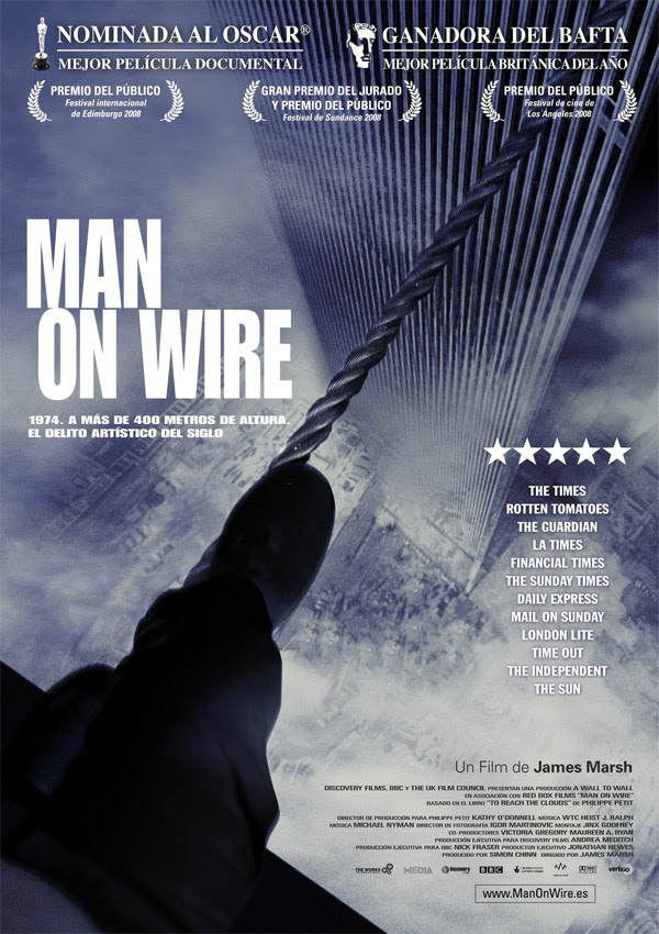 Man on Wire (James Marsh, 2.008)