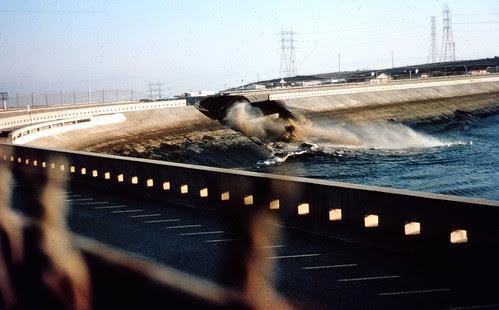 Baldwin Hills dam break Dec.14, 1963  by srk1941