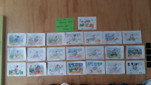 Coloriage Magique Tour De France