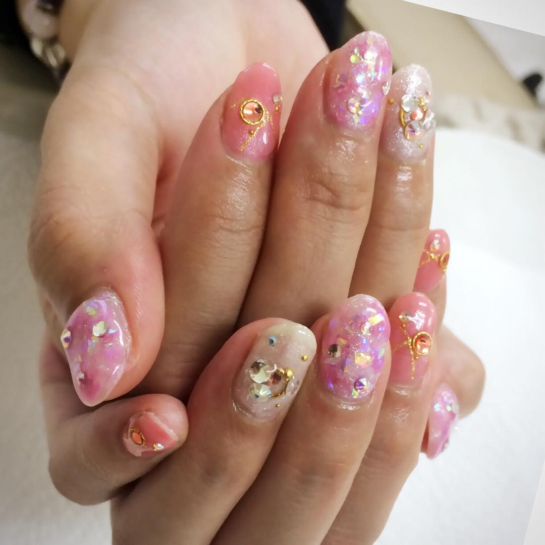 Awesome Japanese Nail Art Designs 2017 - Fashion 2D