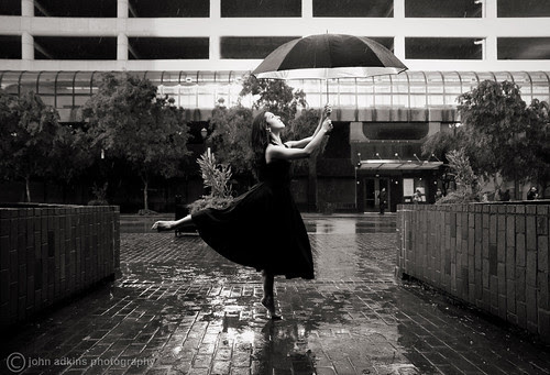 Amelia No. 6 (Dancing in the Rain)