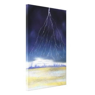 Storm Gallery Wrapped Canvas