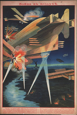 Russian airship fight