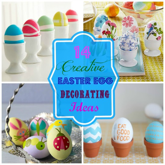 14 Creative Easter Egg Decorating Ideas — A Cultivated Nest