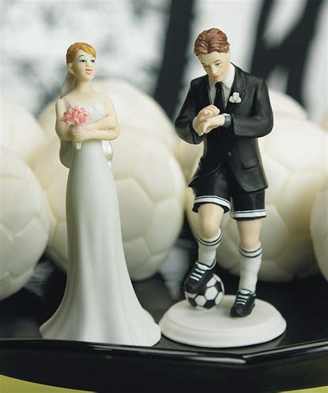 Soccer Player Groom Figurine Only   Mix & Match Cake