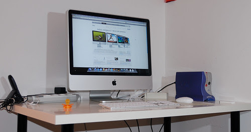 """Ahora: Mi nuevo iMac de 24"""""""