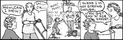 Home Spun comic strip #626