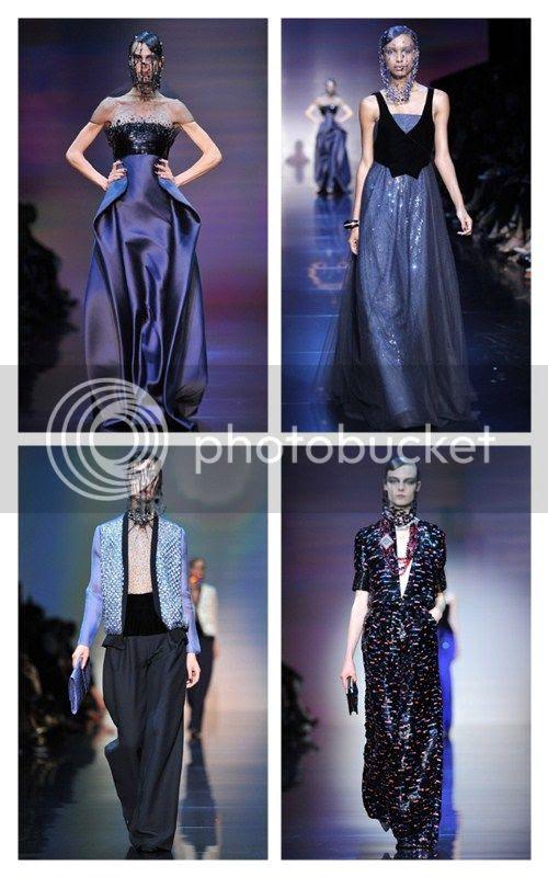 Armani Prive Fall 2012: Paris Haute Couture