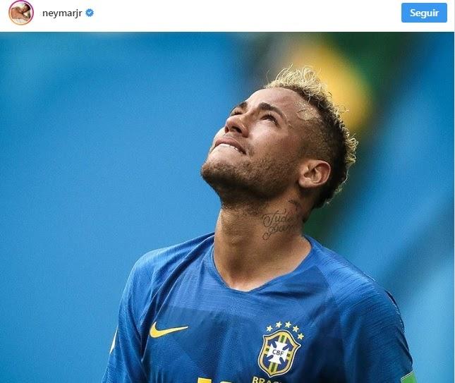 """Neymar desabafa após choro em fim de jogo: """"Nem todos sabem o que passei pra chegar até aqui''"""