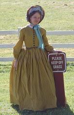 Dress and Bonnet