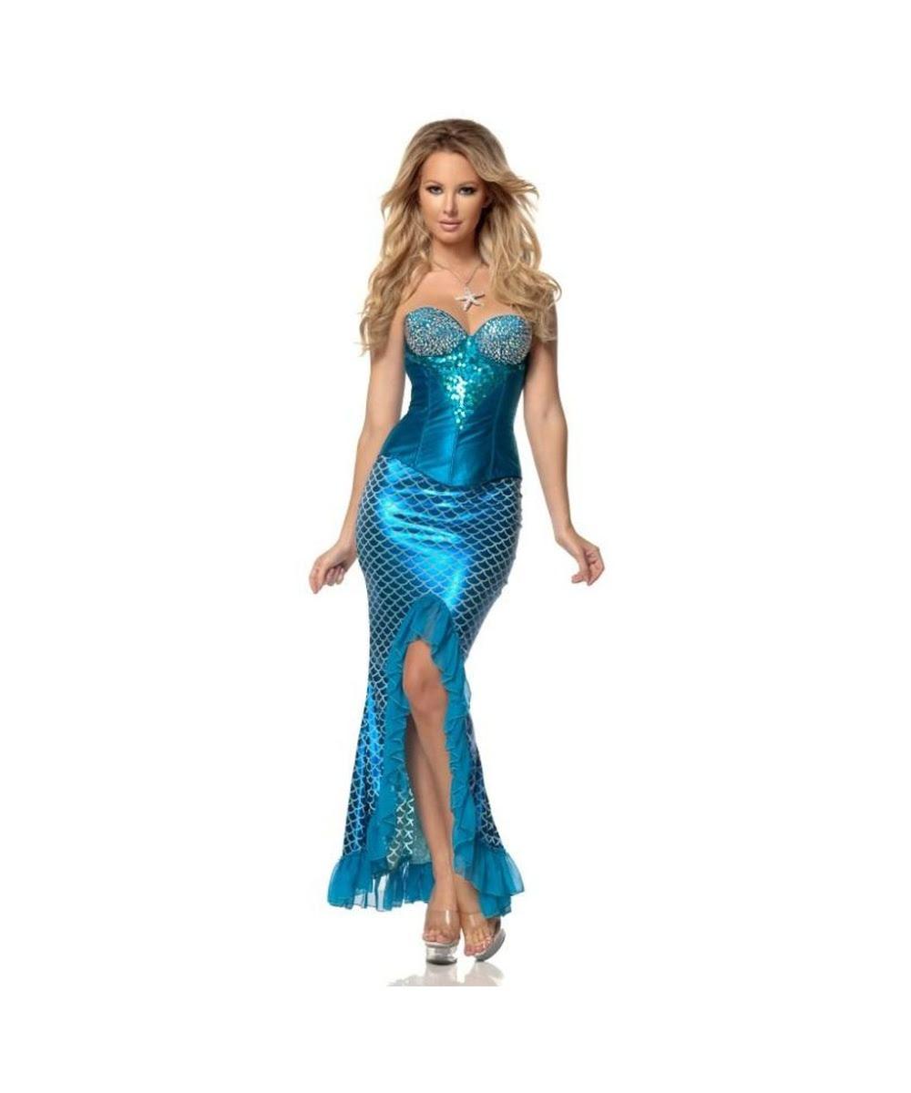 mermaid womens costume  sexy costume