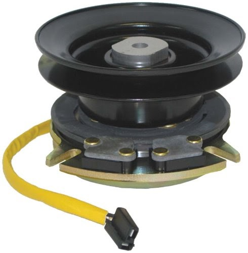 Polarity Electric Clutch Lawn Tractor : Lawn mower electric pto clutch replaces cub cadet