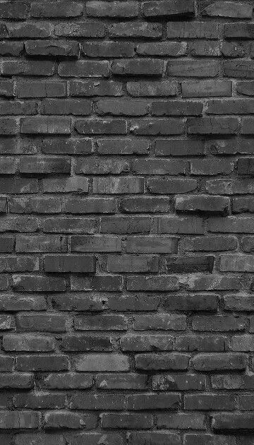 Black Brick Wall Iphone Wallpaper - Mural Wall