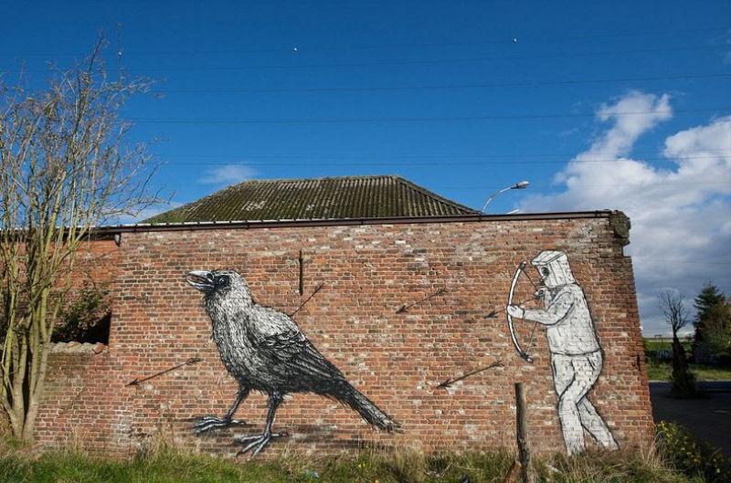A vila condenada de Doel e sua arte de rua surpreendente 04