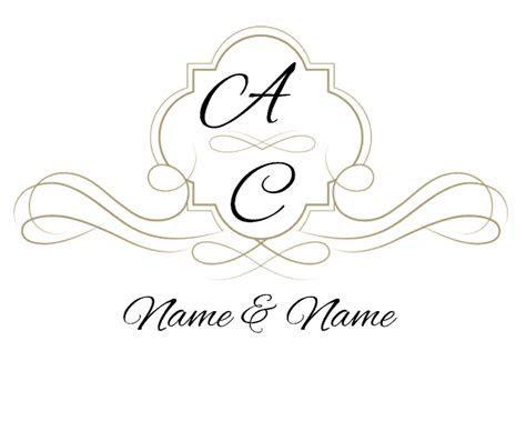 Free Custom Wedding Monogram