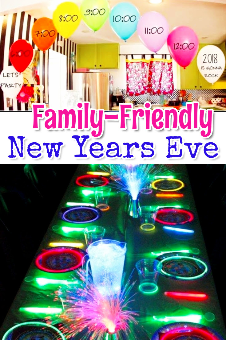 Family Friendly New Years Eve Party Ideas Involvery
