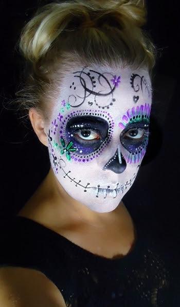 Sugar Skull   Brooke D.'s (paintmepleasefaceart) Photo ...