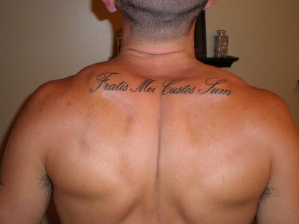 Am My Brothers Keeper H M Of De On Myspace Tattoomagz