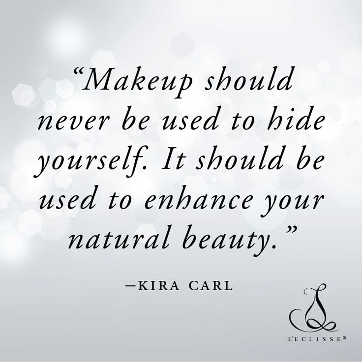No Makeup Natural Beauty Quotes