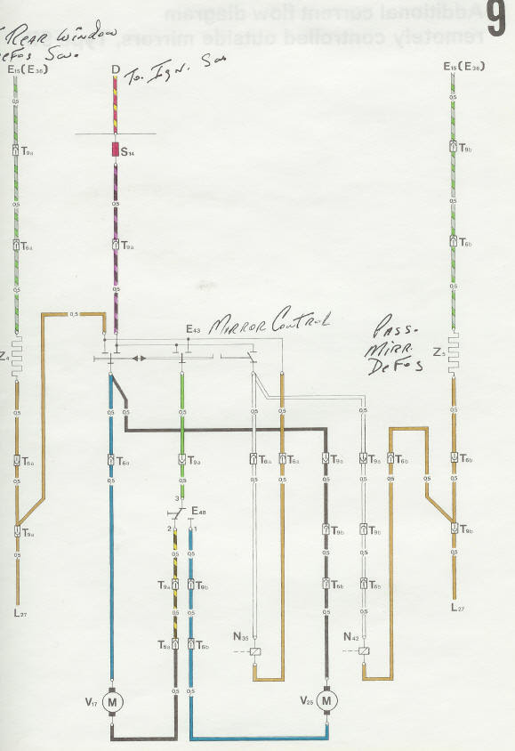 Wiring Diagram For Power Mirror