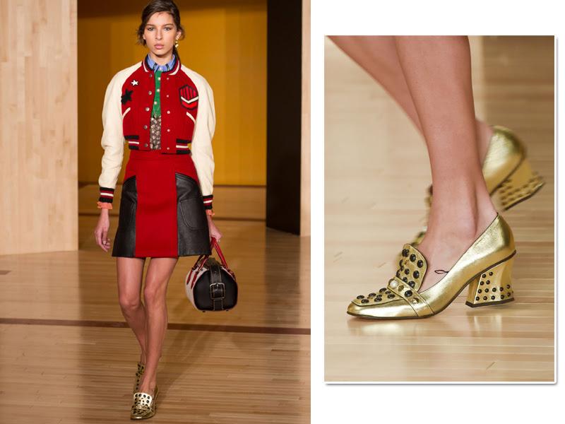 Resultado de imagem para como usar sapato dourado 2017