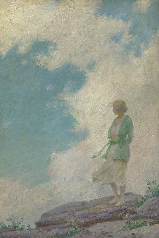 The Athenaeum - The Green Jacket (Charles Courtney Curran - No dates listed)