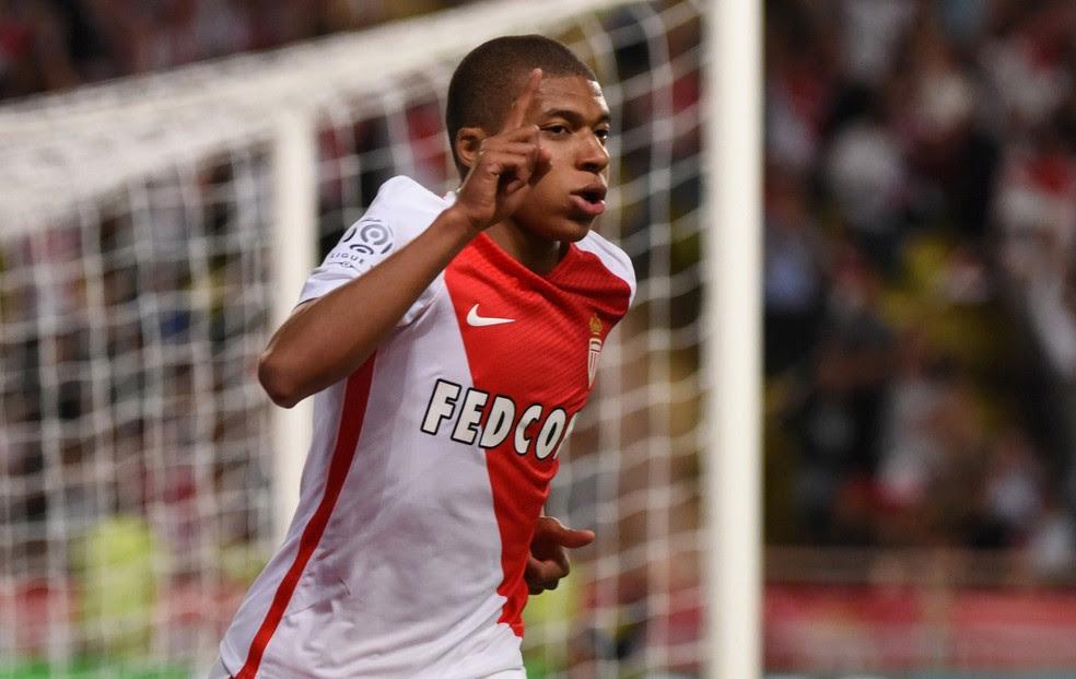 Mbappé Monaco Saint-Étienne (Foto: Jean-Pierre Amet / Reuters)