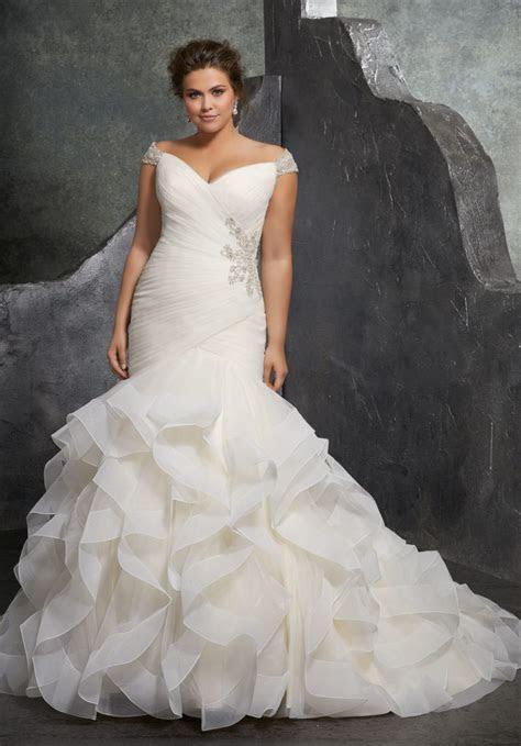 Kori Plus Size Wedding Dress   Style 3237   Morilee