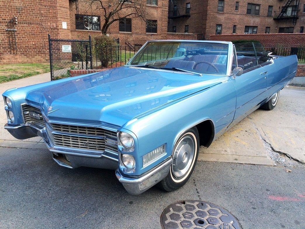 1966 * Cadillac * DeVille * Convertible * NO RESERVE ...
