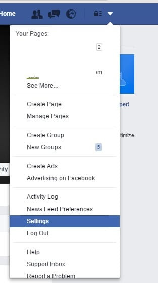 How to change facebook Email ID/ Mobile on Web: Mac/ PC