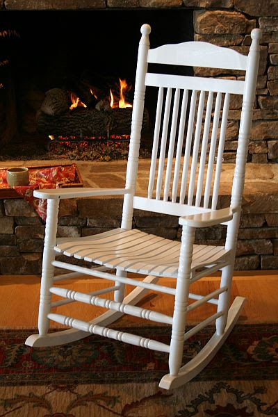 Photoantique Adult Childs Rocking Chair Isolated Margrit