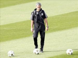 El entrenador del Real Madrid José Mourinho. EFE