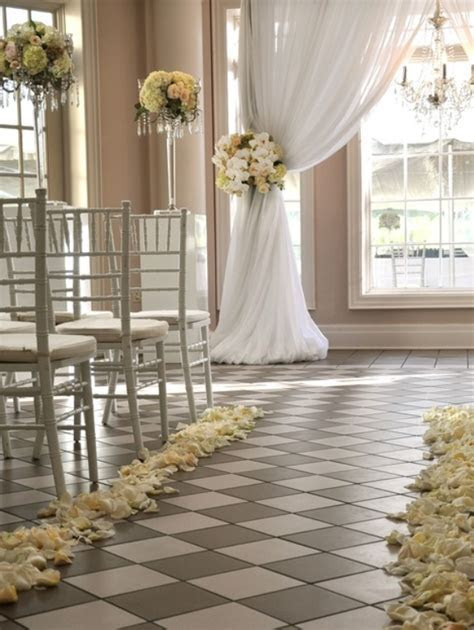 Indoor Wedding Ceremony Decor Archives   Weddings Romantique