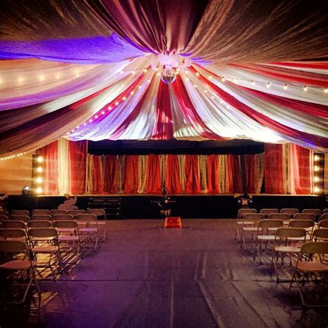 Circus Tent Church Event Decor   Mint Events in 2019