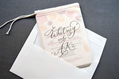 Whitney   A.K.'s Colorful Letterpress Wedding Invitations