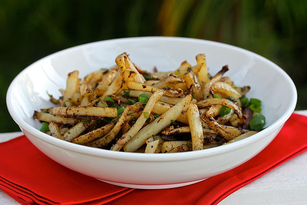 Stir-Fried Aromatic Potatoes