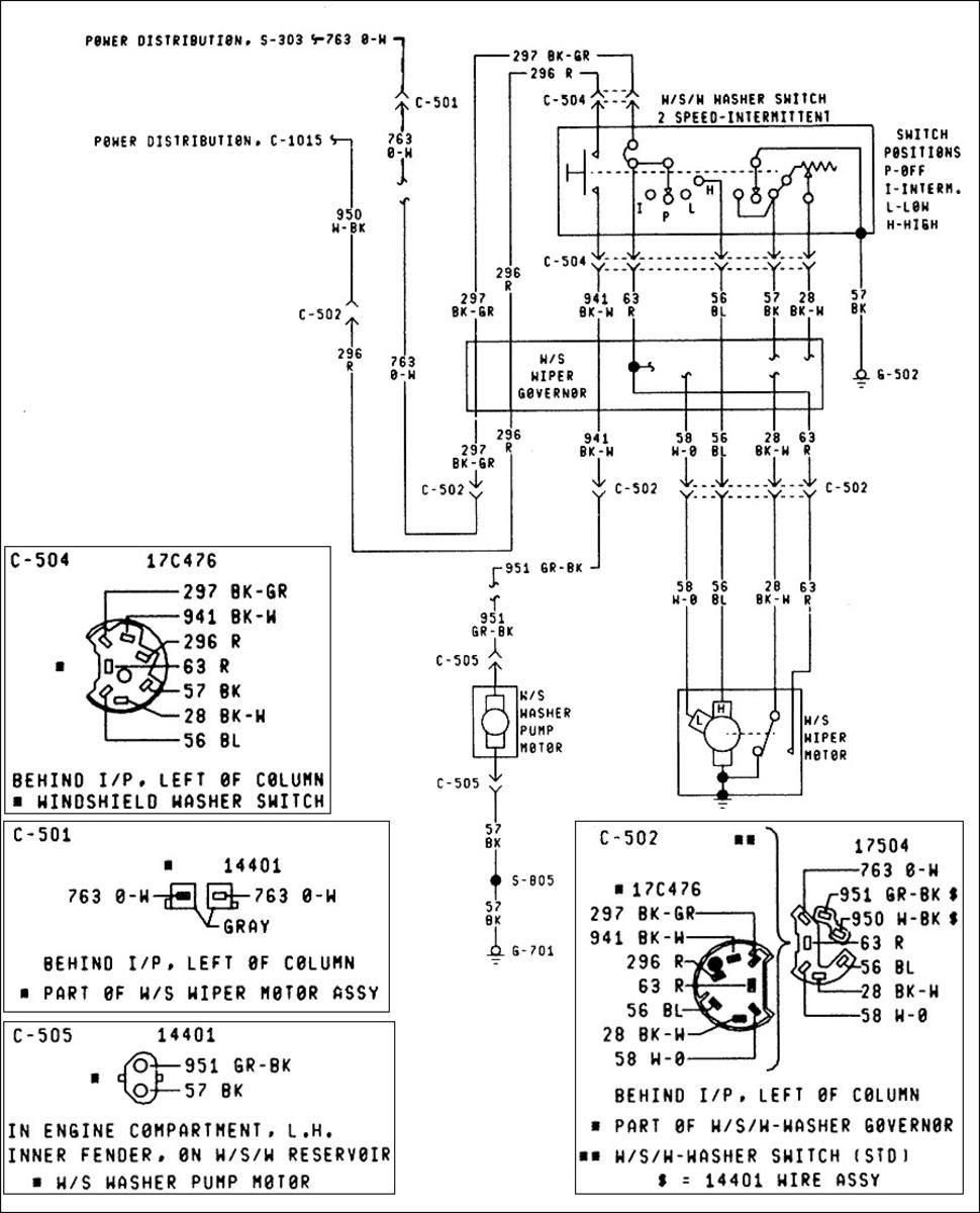 27 Wiper Motor Wiring Diagram Ford