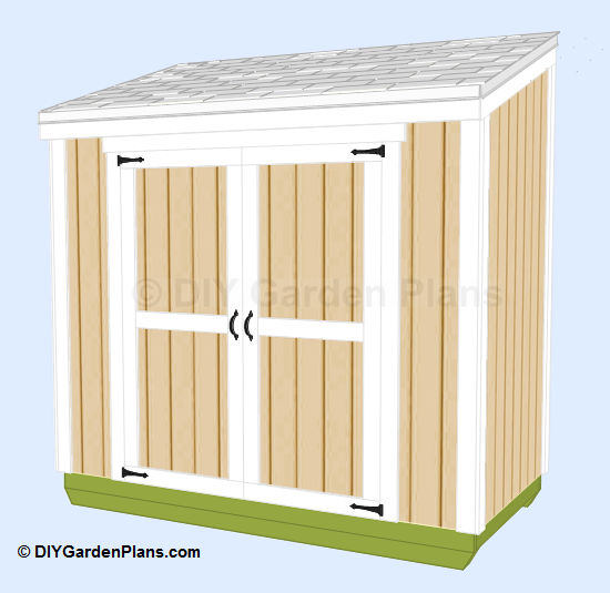 Free 4 x 8 garden shed plans haddi for Garden shed 4 x 8