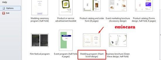 Cara Membuat Undangan Pernikahan Sederhana Dengan Word 2010