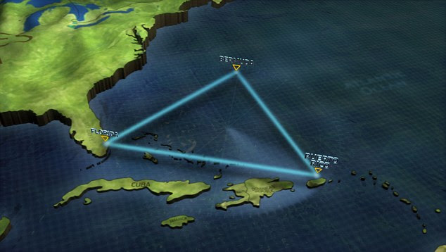 Mystery: Scientists believe similar methane craters could explain loss of ships in the Bermuda Triangle