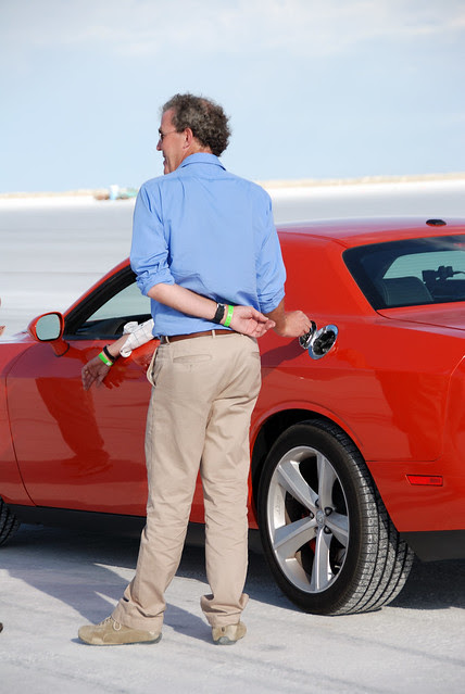 Jeremy Clarkson Messing With Hammonds Gas Cap - Bonneville Salt Flats - Top Gear