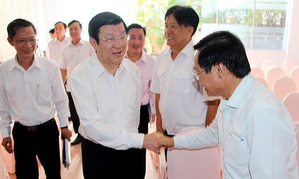 Hoàng Sa, Trường Sa, chủ quyền, Biển Đông, chủ tịch nước, Trương Tấn Sang